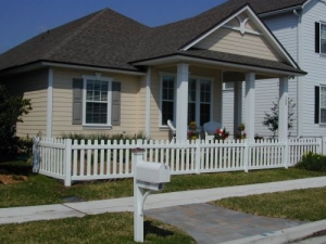 Top-Rated Aluminum Fences in Oakwood GA - The Fence Store - Vinyl_Picket_Baron3