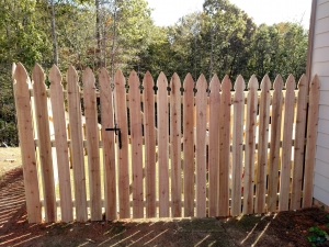 Top-Rated Aluminum Fences in Oakwood GA - The Fence Store - Wide_Cedar_French_Gothic-min