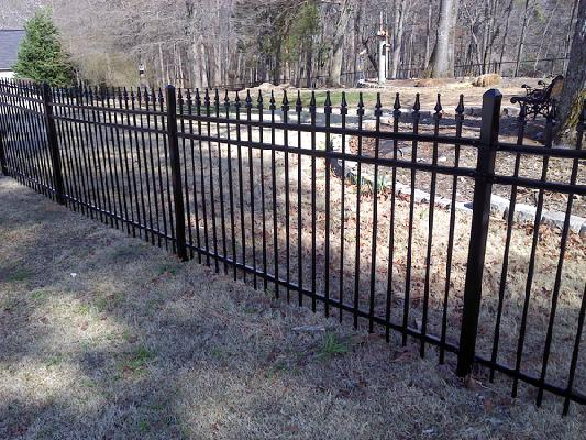 Expert Fence Installation in Duluth GA - The Fence Store - 4_ft_3_rail__with_triads