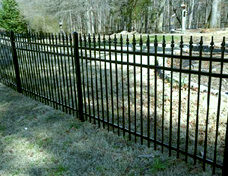 Metal Fences - The Fence Store - custom-pre-manufactured-fencing