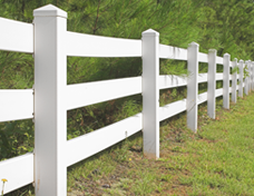 Wood Fences - The Fence Store - image-content-rail-fencing